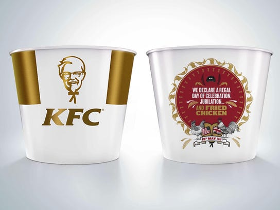 KFC has created a limited edition commemorative bucket