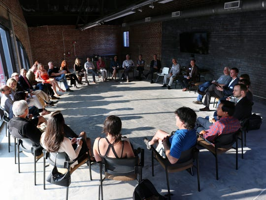 Mountain BizWorks facilitates gatherings of businesses