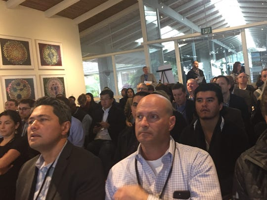 Over 200 entrepreneurs and professionals in the agtech