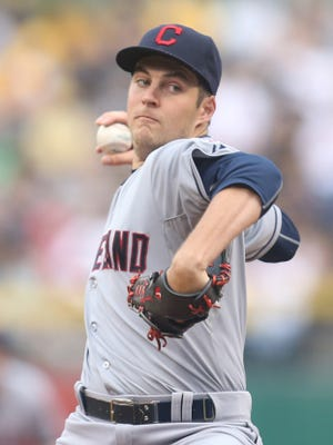 """""""I look at a lot. How much I actually apply, I don't know,"""" says Indians pitcher Trevor Bauer of data passed on by the front office."""