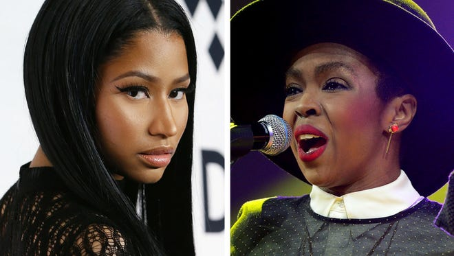 Nicki and her idol.
