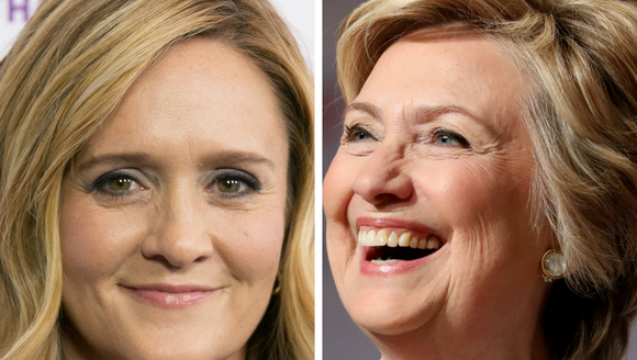"""Samantha Bee and Hillary Clinton are """"Nasty Women"""""""