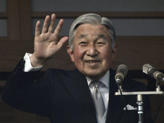 EPA (FILE) JAPAN ROYALTY EMPEROR AKIHITO HUM PEOPLE JPN TO