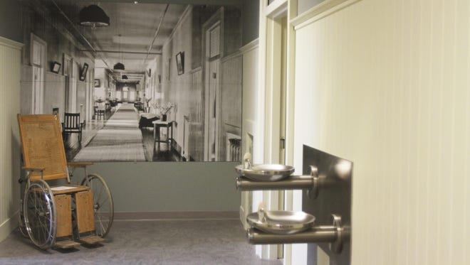 """The Oregon State Hospital Museum of Mental Health has a section dedicated to """"One Flew Over the Cuckoo's Nest,"""" which was filmed at the hospital."""