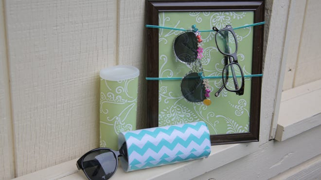 These three craft projects let you hang, stash and decorate your glasses.