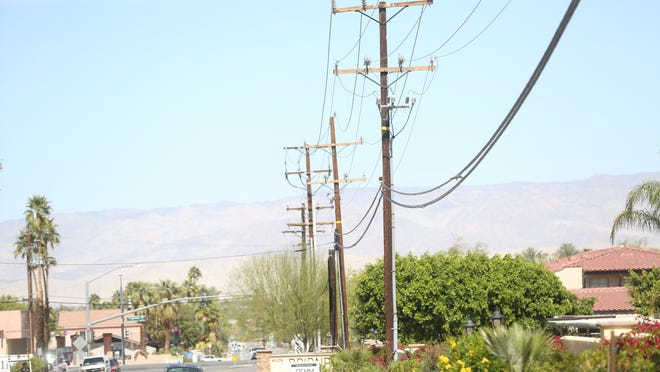 Bury utility lines to reduce fire threat, a Desert Sun reader recommends.