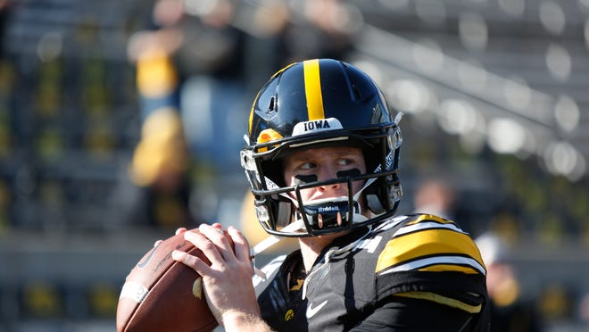 In 25 starts at Iowa, quarterback Jake Rudock completed 60.3% of his passes and threw for 4,819 yards and 34 touchdowns with 18 interceptions.