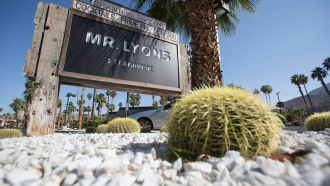 Mr. Lyons Steakhouse in Palm on Wednesday.