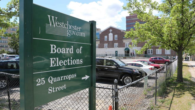 The Westchester County Board of Elections in White Plains.
