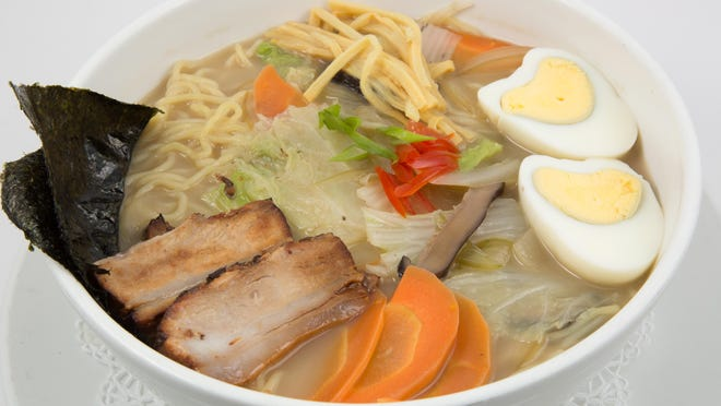 Housemade ramen from Koreana Authentic Cuisince, which opened Monday