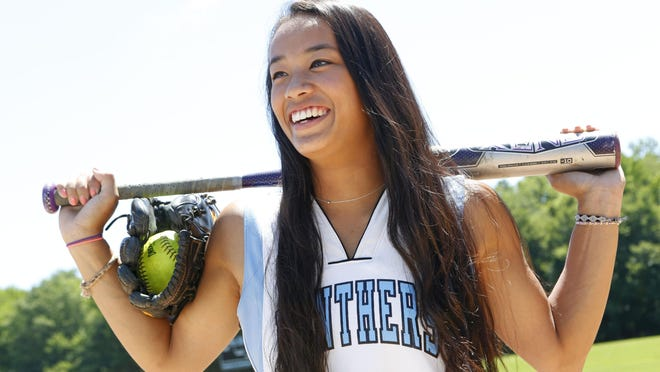 Rye Neck High School's Diana King, the Westchester/Putnam softball player of the year, is photographed June 24, 2015 at the high school in Mamaroneck.