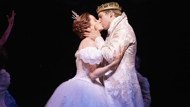 """Paige Faure and Andy Jones star in the national tour of Rodgers and Hammerstein's """"Cinderella."""""""