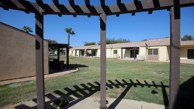 The apartment units at Coachella Community Homes, an affordable housing complex in Coachella, on Aug. 20, 2015.