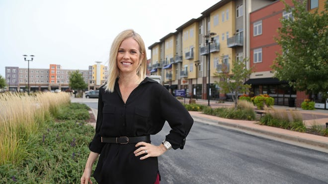 Jennifer Howell is the general manager of West Glen Town Center in West Des Moines.