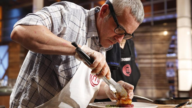 """Contestant Stephen Lee in the all-new """"Team Gordon Ramsay/The Finale"""" two-hour season finale episode of """"MasterChef"""" airing Wednesday, Sept. 16."""