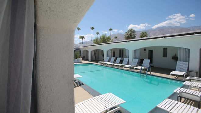 The Posh Palm Springs Inn in Palm Springs on Wednesday.