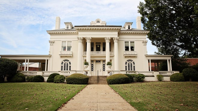 Memorial Hall, also known as Chevy Chase, the White House and the Pigford Mansion, was built in 1915. It was the residence of Clarence and Sally Pigford, then owners of The Jackson Sun.