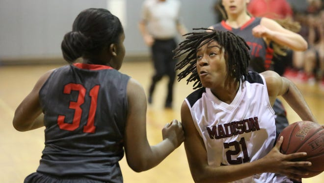 Madison County senior Jameica Cobb has averaged 24 points per game as her team has gone 26-5 to reach the Class 1A state semifinals.