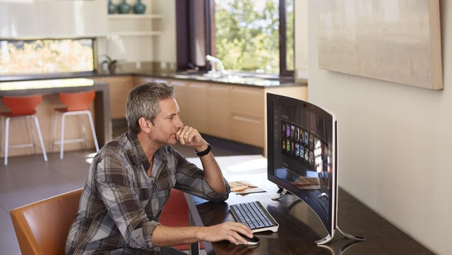 A stationary desktop computer might make the most sense for your home office.