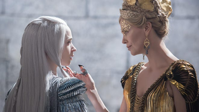 """Emily Blunt and Charlize Theron in """"The Huntsman: Winter's War."""""""