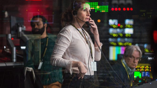"Julia Roberts stars in ""Money Monster,"" out Friday in the Fox Cities."