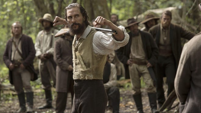 """In """"Free State of Jones,"""" Matthew McConaughey plays Newton (Newt) Knight, a tough, struggling white farmer who led a sizable revolt against the Confederacy during the middle of the war."""