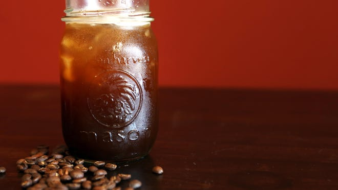 Iced coffee is a refreshing treat in summer.
