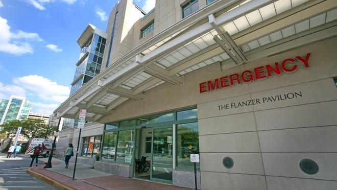 White Plains Hospital's emergency room entrance