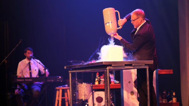 Food Network star Alton Brown brings his Alton Brown Live: Eat Your Science tour to the Auditorium Theatre on Friday, Nov. 18.
