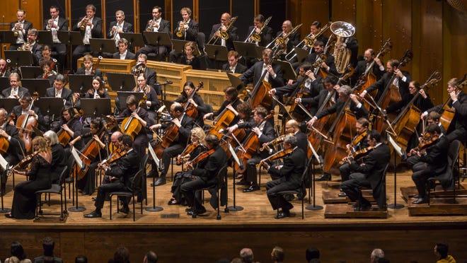 New York Philharmonic in Mahler Symphony 6 at David Geffen Hall, in 2016.