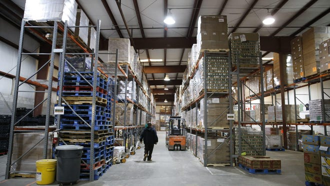The Second Harvest of the Big Bend warehouse. The organization plans to buy the warehouse, which they currently rent, with the help of the $1 million.