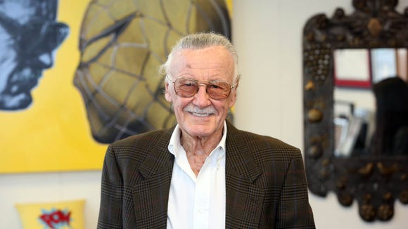 Stan Lee, in 2012. Jefferson Graham, USA TODAY