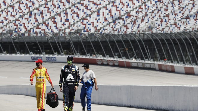 Drivers and teams returned to work at Darlington in May. It was a welcomed sight for sports fans in general, race fans in particular.