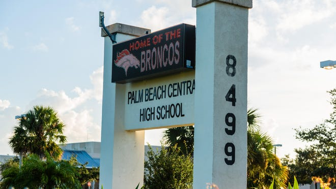 Palm Beach Central High School in Wellington was the site of a grade-changing controversy uncovered this year by the school board's inspector general.