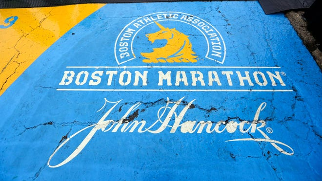 A general view of the Boston Marathon starting line on Apr 15, 2019. The 2020 Boston Marathon was canceled for the first time in the event's 124-year history.