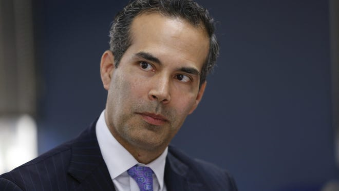 Texas Land Commissioner George P. Bush shared a tweet connecting damage to state-owned vehicles in a downtown Austin parking garage with the city's recent decision to cut funding for its police department. PolitiFact Texas checks the facts.