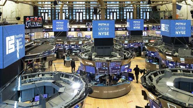 The trading floor of the New York Stock Exchange on July 22.