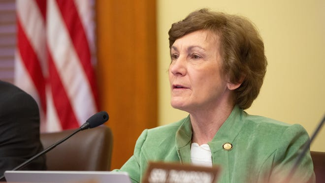 Kansas Sen. Barbara Bollier, a Democrat, has said she would be an independent voice if elected to the U.S. Senate.