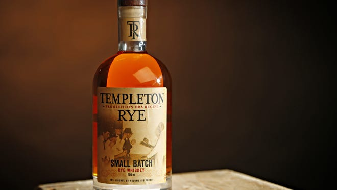The makers of Templeton Rye said in August that they would change its bottle's labeling.