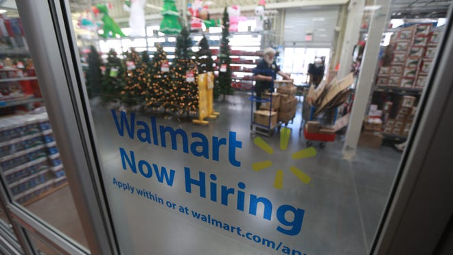 The Wal-Mart in West Des Moines is among area retailers that are hiring for the holidays. The company plans to add more workers this year because more checkout lanes will be open before Christmas than in the past.