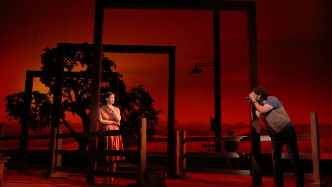 """The Bridges of Madison County"" will launch its national tour in November in Des Moines. Kelli O'Hara and Steven Pasquale starred in the Broadway run last spring, but the touring cast has yet to be announced."