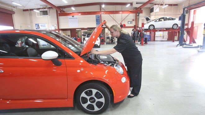 Heather Graves, secretary of the Automotive Technology Club of College of the Desert, is organizing a car show she hopes will bring in more than $1,000 for much-needed tools.