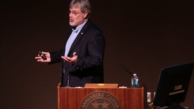 Capt. Richard Phillips recounts spending several days in a lifeboat off the coast of Somalia in 2009 after he was taken hostage by pirates.
