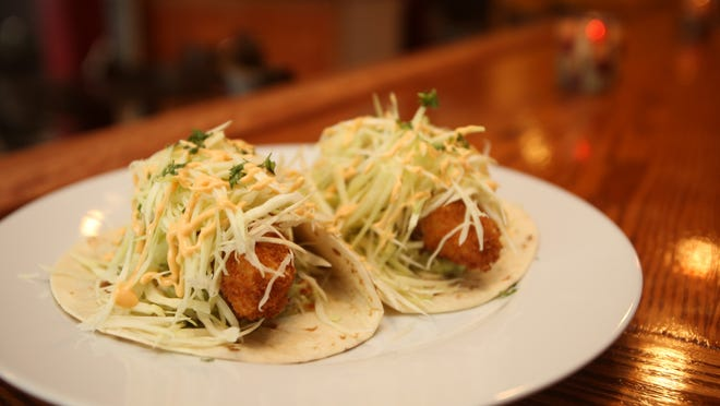 Fish tacos are served at Maura's Kitchen in Nyack.