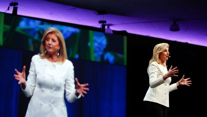 """Arianna Huffington will kick off the """"Castle Conversations"""" lecture series. There are just 525 seats to the event."""