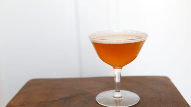 James Bumbery of Pour makes a Park Avenue Cocktail in Mount Kisco. Re-Mix: Substitute pineapple juice with pineapple syrup.