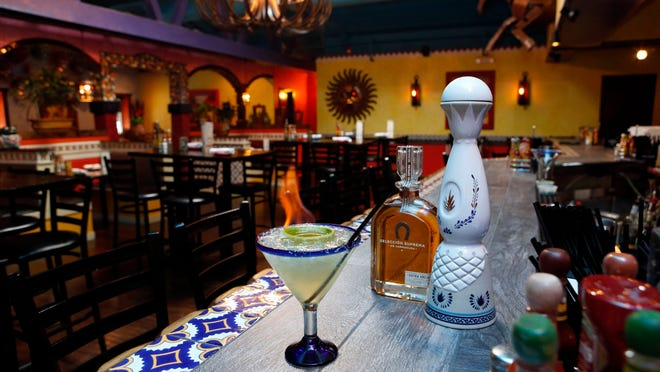 The Torero margarita at Rio Bravo Tacos and Tequila in Larchmont
