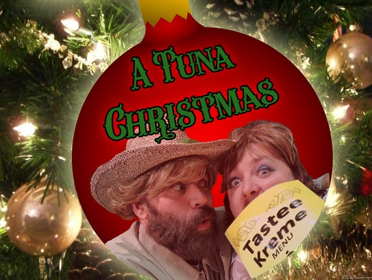 'A Tuna Christmas' is on stage starting Dec. 4 at The