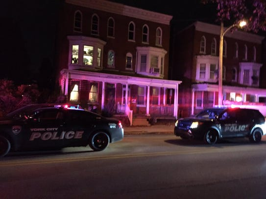 York City Police responded to a report of shots fired
