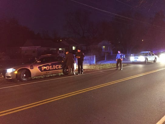 Knoxville police investigate a fatal shooting Friday,